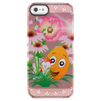 Easter time, funny easter egg uncommon clearly™ deflector iPhone 5 case