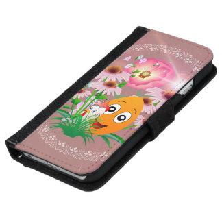 Easter time, funny easter egg iPhone 6 wallet case