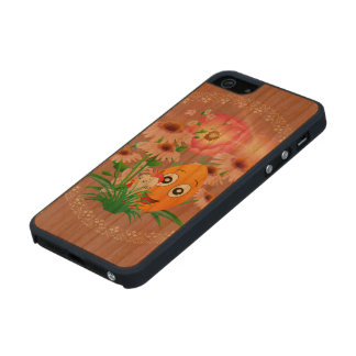 Easter time, funny easter egg carved® cherry iPhone 5 slim case