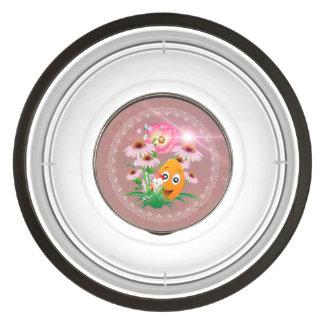 Easter time, funny easter egg pet bowl
