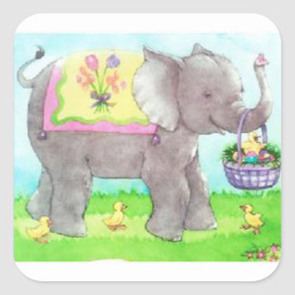 Easter Time! Square Sticker