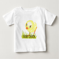 Easter Toddler T New Chick Baby T-Shirt