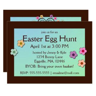 Easter Tree Invitation