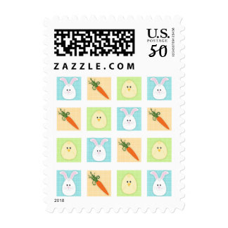 Easter Trio Postage Stamp