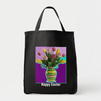 Easter Tulips - Happy Easter BAG