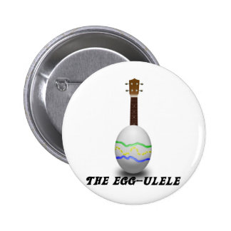 Easter Ukulele 2 Inch Round Button
