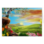 easter-valley greeting card