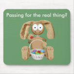 Easter visitor mouse pad