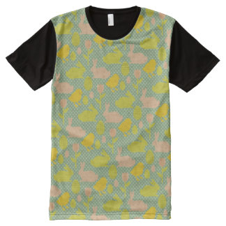 Easter Wallpaper All-Over Print T-shirt