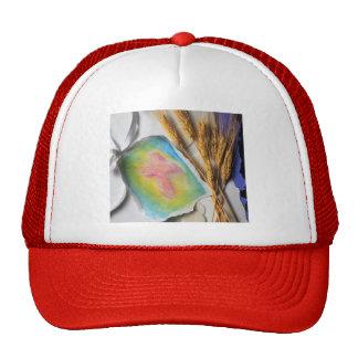 Easter Water Color Cross Sketch Trucker Hat