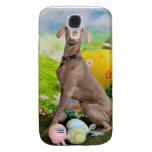 Easter - Weimaraner -Nevaeh Samsung Galaxy S4 Case