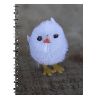Easter White Chicken Notebook
