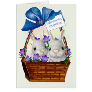 Easter Wishes  Card- Boy Card