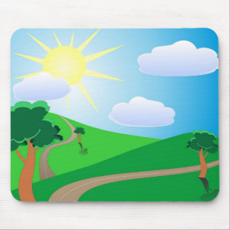 Easter Wishes Mouse Pad