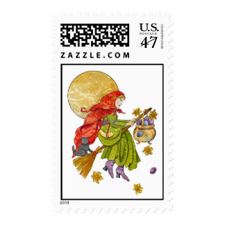 Easter Witch Postage