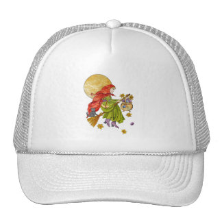 Easter Witch Tee Trucker Hat
