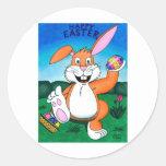 Easter Wonder Round Stickers