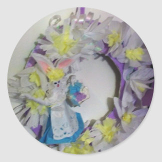 Easter Wreath Stickers
