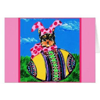 Easter Yorkie Poo Cards