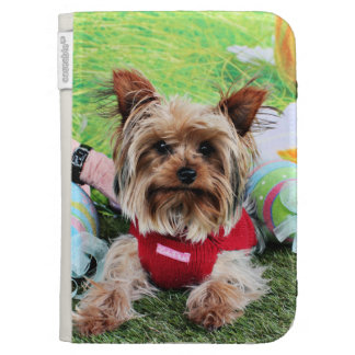 Easter - Yorkshire Terrier - Sassy Cases For The Kindle