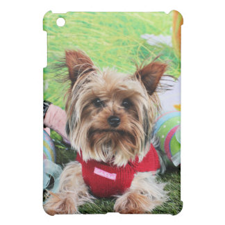 Easter - Yorkshire Terrier - Sassy iPad Mini Cover