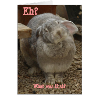 Easter, you say? card