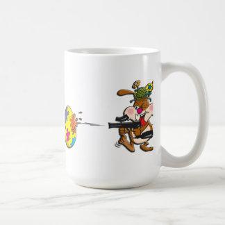 EasterB16 Paintball bunny Coffee Mug