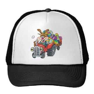 EasterB18 tractor bunny Trucker Hat