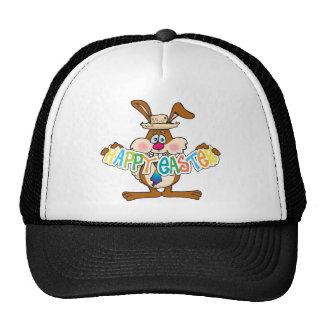 EasterB26 Happy Easter Bunny Trucker Hat