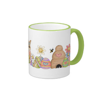 Easterbunnies and Eggs Mug