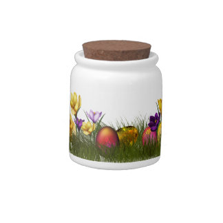 Easteregs and Chicks Candy Jars