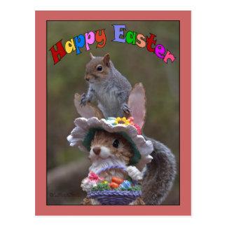 EasterFeaturing feliz lindo, imagen divertida de S Postales