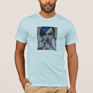 """Easterlily"" Basic American Apparel T-Shirt Lt. Bl"