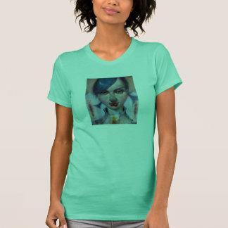"""Easterlily"" Ladies Petite T-Shirt Lime"