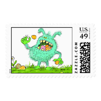 eastermonster stamp