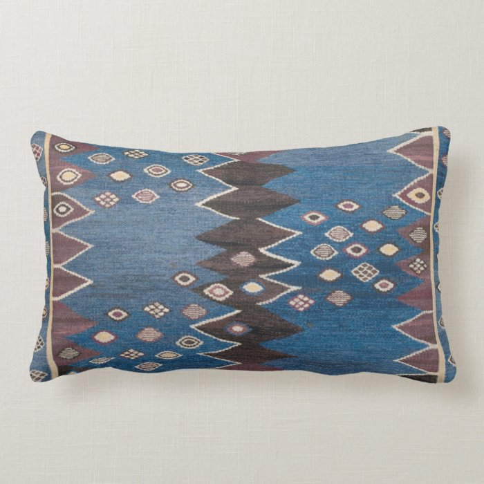 Eastern Accent Vintage Persian Carpet Pattern Lumbar Pillow Zazzle
