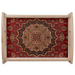 Eastern Accent Vintage Persian Pattern Serving Tray