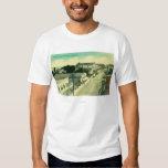 Eastern Aerial ViewAntioch, CA T-Shirt