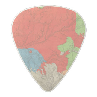Eastern Arizona and Western New Mexico 2 Acetal Guitar Pick