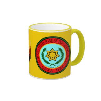 Eastern Band Of The Cherokee Seal Ringer Coffee Mug