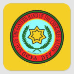 Eastern Band Of The Cherokee Seal Square Sticker