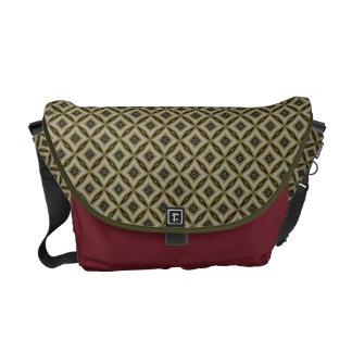 Eastern Batik Diamonds Pattern Messenger Bag