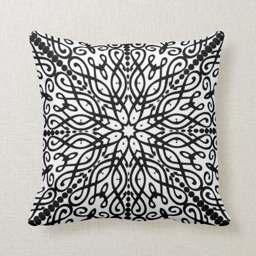 Eastern Batik Winter Mandala Cushion
