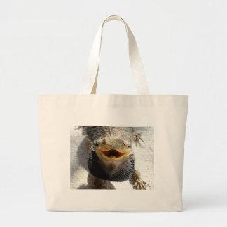 Eastern Bearded Dragon - Pogona barbata Large Tote Bag