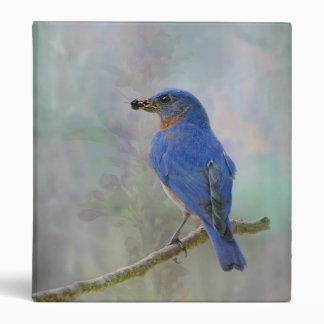 Eastern Bluebird 3 Ring Binder