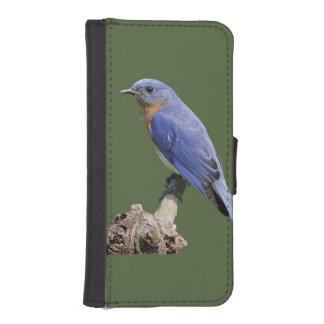 Eastern Bluebird iPhone SE/5/5s Wallet