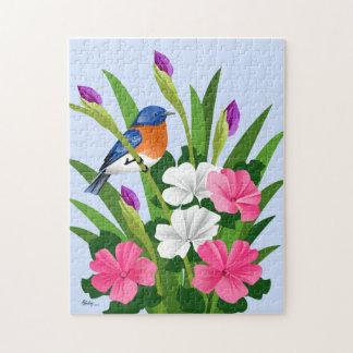 Eastern Bluebird Jigsaw Puzzle