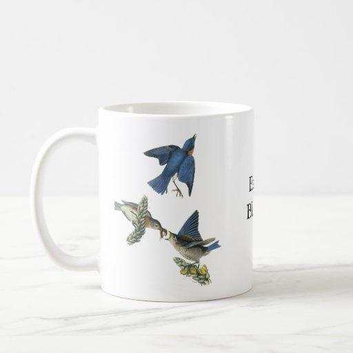 Eastern Bluebird, John Audubon Mug