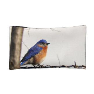 Eastern Bluebird Photo Cosmetic Bag