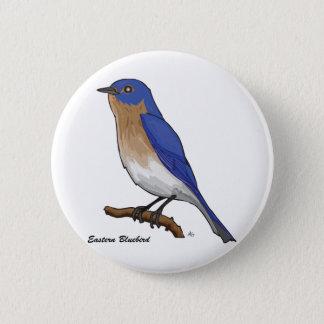 EASTERN BLUEBIRD PINBACK BUTTON